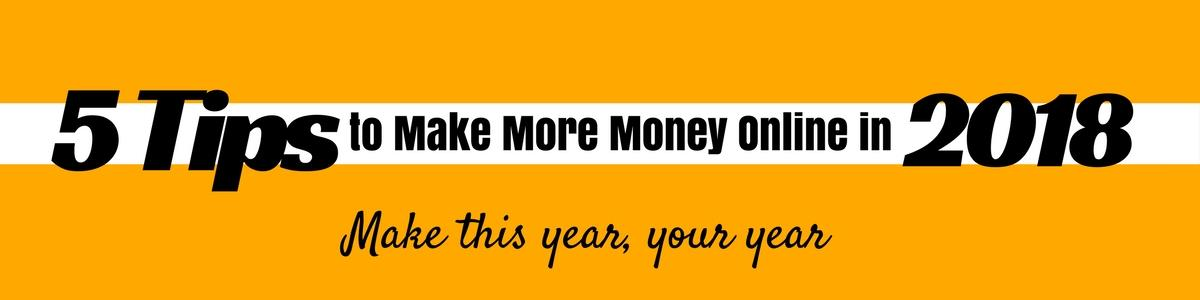 Make More Money Online