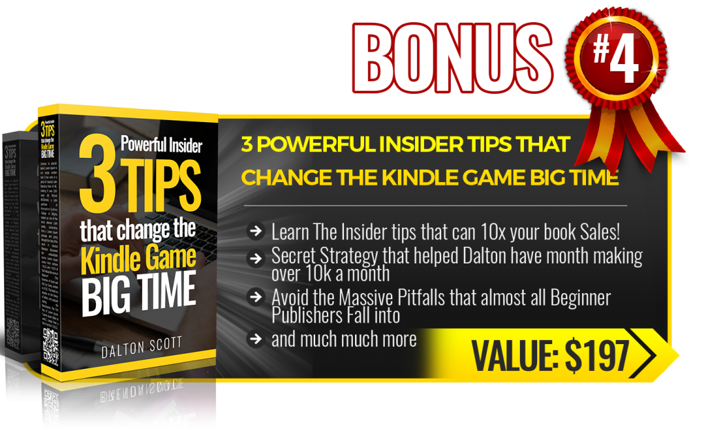Bonus 4 3 Powerful Inside Tips Kindle